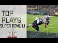 Top Plays of Super Bowl LI | Patriots vs. Falcons | NFL Highlights