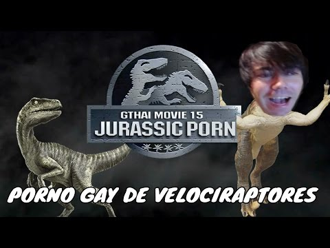 ¡Velociraptor petadores de ojales! | Jurassic Porn [Porno GAY]