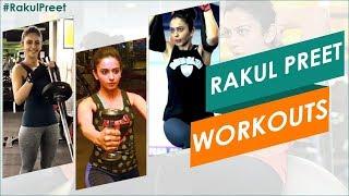 Rakul Preet GYM Workout Video | Rakul Preet Singh Latest Workout Videos | #Rakulpreet