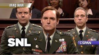 Cold Open: Petraeus Hearings - Saturday Night Live