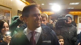 Marco Rubio Smiles for Dental Checkpoint