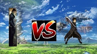 NOT DEATH BATTLE: Sho Vs Kirito (Best Buddies Vs Sword Art Online)