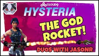 Hysteria | Fortnite Battle Royale  - The God Rocket - Duos with JasonR