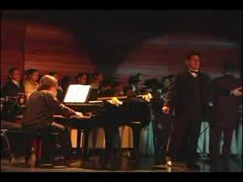 Tenor David Hidalgo. Nessun Dorma. Turandot