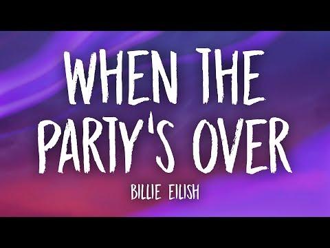 Billie Eilish - when the party's over (Lyrics) MP3
