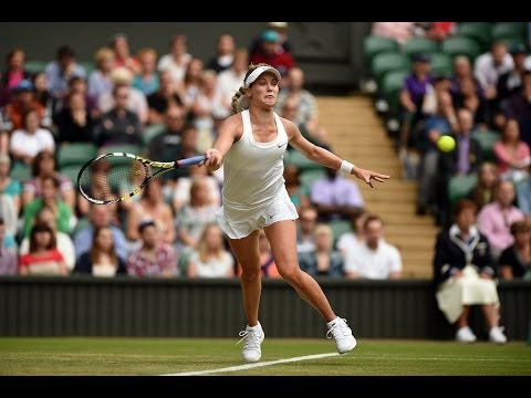 2014 Day 7 Highlights, Eugenie Bouchard vs Alize Cornet, Fourth Round