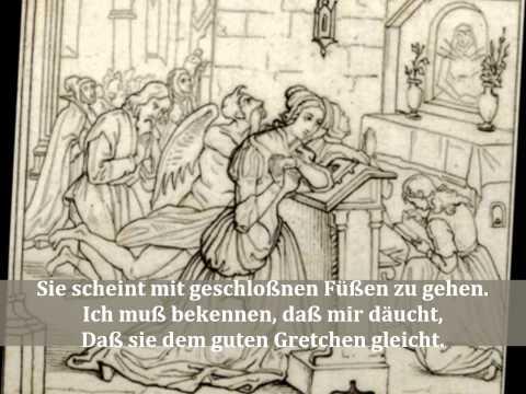 Faust I, Abend, Gretchens Monolog