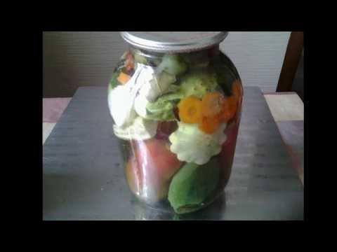 Маринованные овощи на зиму.АССОРТИ.