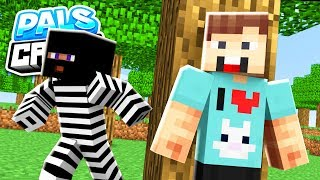 HUNTED BY AN ESCAPED CRIMINAL! | PalsCraft 2 - Episode 2