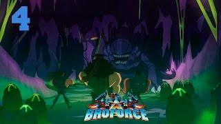 Прохождение Broforce (coop) #4 - Чужие уже здесь!!!