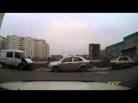 Мариуполь. Момент начала обстрела 24.01.2015