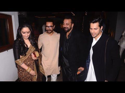 download lagu Sanjay Dutt With Wife Maanayatta At Aamir Khan`s Diwali gratis