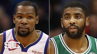 KD's decision may hold up free agency, Kyrie could sign with the Nets quickly - Woj | SportsCenter