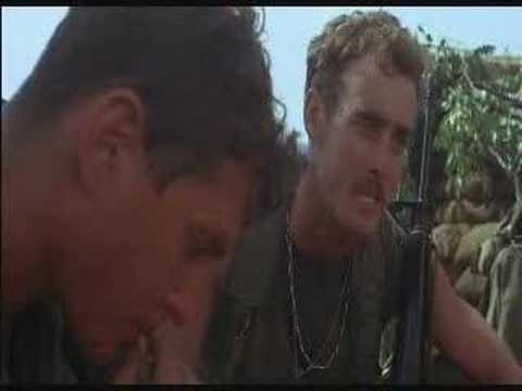 ONeill and Elias Arguing - Platoon - Willem Dafoe - Flixster Video