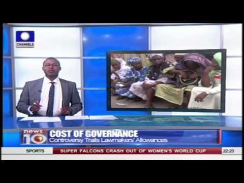 News@10: President Buhari wants To Tackle Corruption 170615 Pt 2
