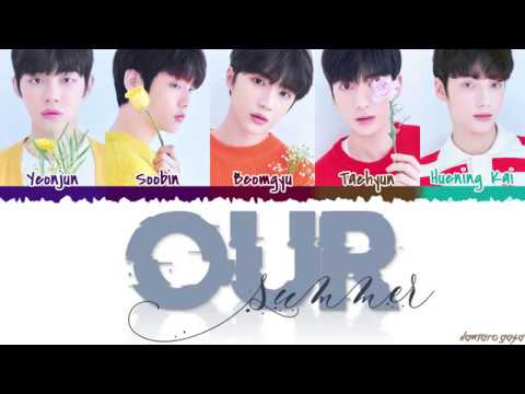Download  TXT - 'OUR SUMMER' s Color Coded_Han_Rom_Eng Gratis, download lagu terbaru
