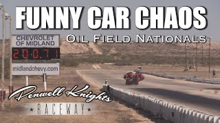 FUNNY CAR CHAOS - OIL FIELD NATIONALS IN VIDEO