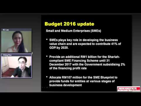 Funding Scheme After Malaysia Budget 2016