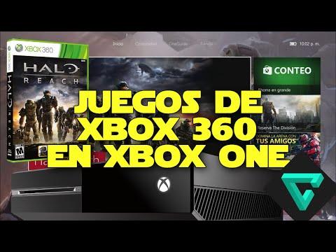 Juegos de Xbox 360 en Xbox One   Retrocompatibilidad - Tutorial