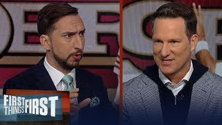 Mahomes vs Garoppolo is the biggest mismatch on the field — Nick Wright | NFL | FIRST THINGS FIRST