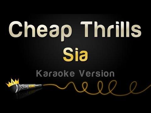 Sia - Cheap Thrills (Karaoke Version) MP3