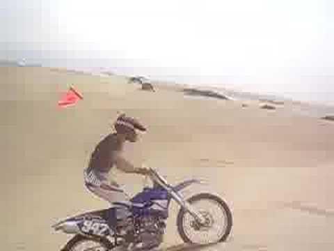 Pismo Beach Sand Dunes. Pismo Beach Sand Dune Jump