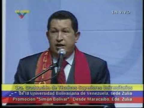 Presidente Chávez sobre el Software Libre (5)