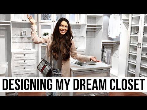 Designing My DREAM Closet!