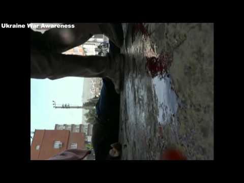 01/23 Turkish Tank Shoots White Flag Unarmed Kurdish Group of People. GRAPHIC 18+