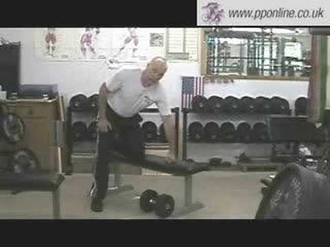Sports Training - Weight Training - Supported Rows, Dumbells Image 1