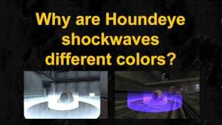 Half-Life - Houndeye Sonic Attack Behavior
