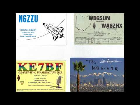 Ham Radio QSL Collection