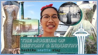 Seattle Fashion, History, & Innovations at the Museum of History & Industry | Hoshiko Hometown Vlog