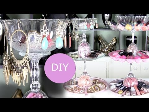 DIY Nail Polish Rack & DIY Jewelry Display Holder
