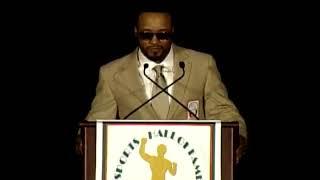 Santana Moss acceptance speech - 2011 UM Sports Hall of Fame