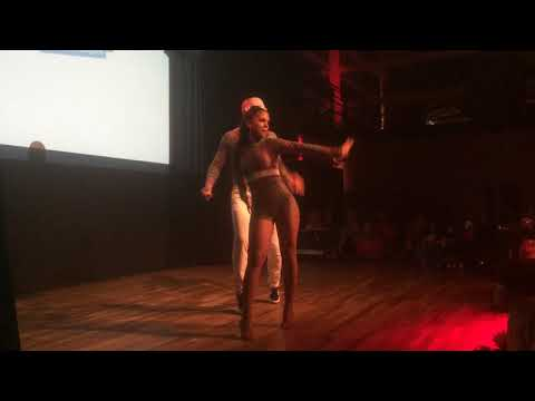 DIZC2014 Bruna and Dragon in performance ~ video by Zouk Soul