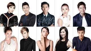 Meet Singapore Stars at PPCTV MEDIACORP AWARDS