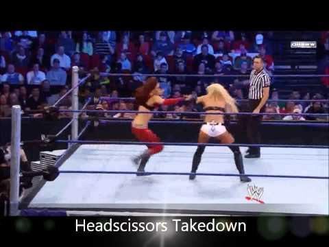 WWE Diva Moves: Maria Kanellis