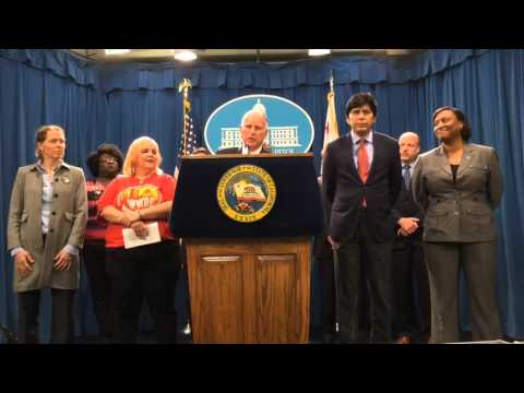 Jerry Brown explains California minimum wage deal