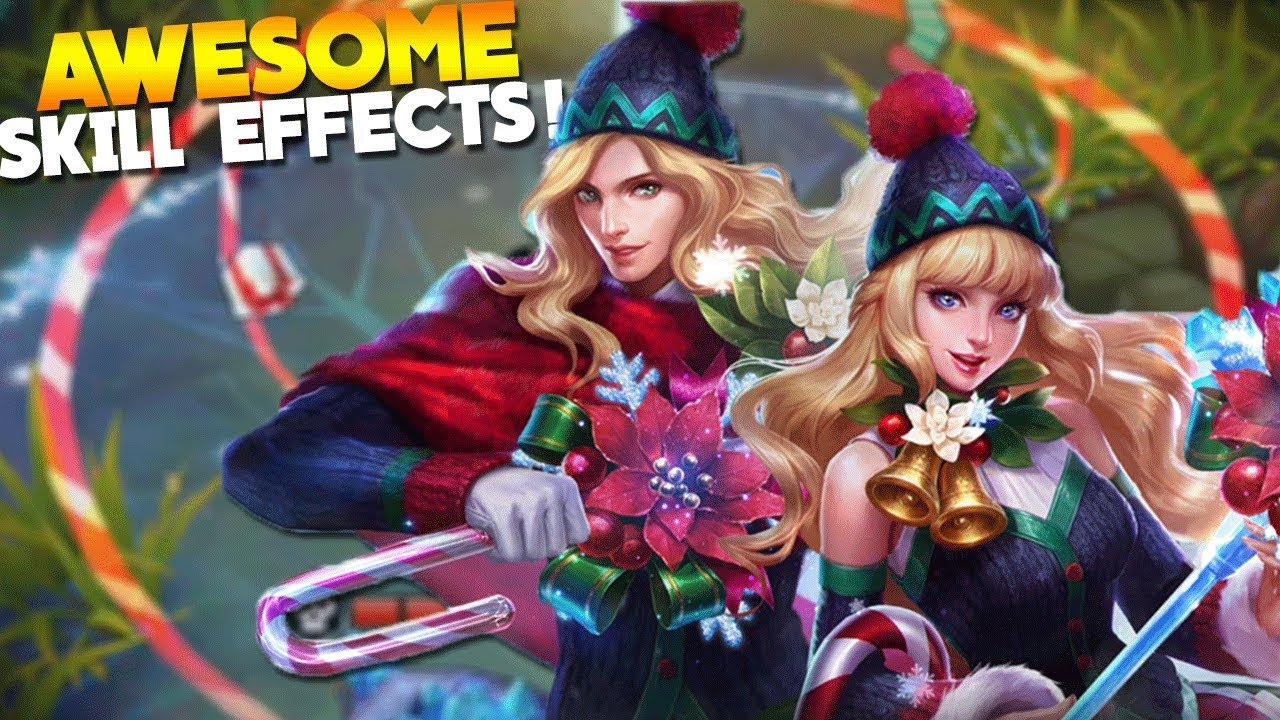 NEW Christmas Skins! Lancelot & Odette Gameplay Mobile Legends