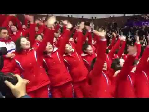 【動画】北の美女応援団、米国のバラエティでネタにされるwwwwwwwwwwww