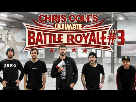 Chris Cole's Ultimate Battle Royale #3 | NEW FORMAT