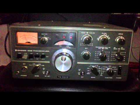 Kenwood TS-520S receiving 40m HAM band