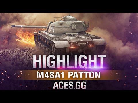 Капитан Америка! M48A1 Patton в World of Tanks!