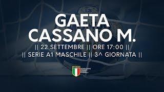 Serie A1M [3^]: Gaeta - Cassano Magnago 25-31