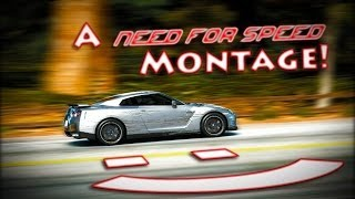 A NEED FOR SPEED MONTAGE! - ( NFS Hot Pursuit, NFS The Run, NFS Most Wanted 2012 )