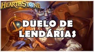 HEARTHSTONE - DUELO DE LENDÁRIAS! (PADRÃO CONTROL WARRIOR)