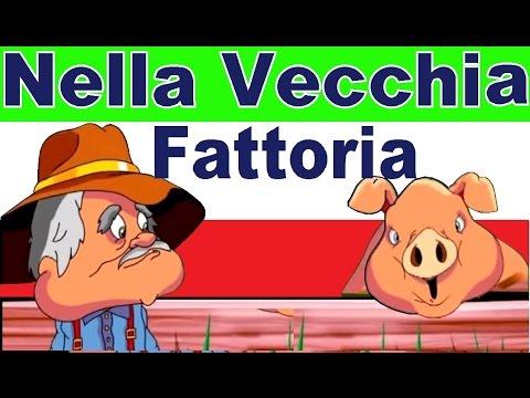 NELLA VECCHIA FATTORIA - canzoni per bambini