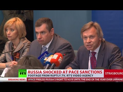 Russia dismisses Council of Europe 'farce' vote