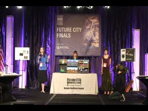 Future City Nationals Presentation on Stage.wmv